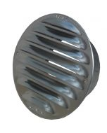 Metallgaller aluminium O 120 mm, med stos