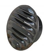 Metallgaller rostfritt O 120 mm, med stos