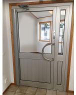 Klämskydd innerdörr, 195 cm Silver/Grå