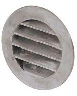 Gjutet aluminiumgaller O 80 mm, med stos