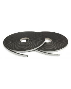 Nortonband 4,5x9, svart  (20m/r, 800m/kart)