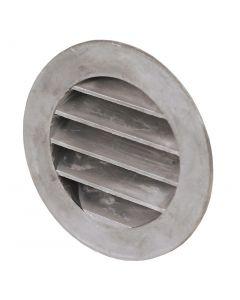 Gjutet aluminiumgaller O 100 mm, med stos