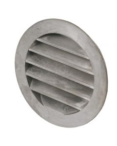 Gjutet aluminiumgaller O 125 mm, med stos