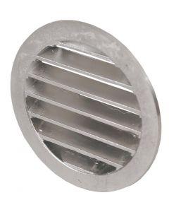 Gjutet aluminiumgaller O 150 mm, med stos