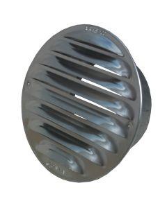 Metallgaller aluminium O 100 mm, med stos
