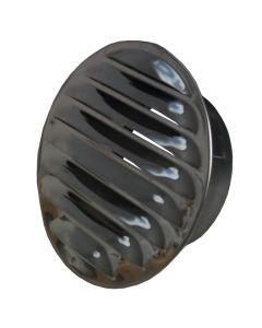Metallgaller rostfritt O 100 mm, med stos