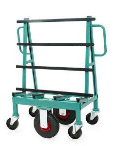 Minivagn stål LBH 800 x 500 x 780 mm, 30 kg