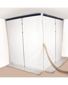 Skärmvägg  MAXI kardborre 3,60m