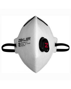 Engångsmask Zekler 1402V,(med ventil) 3 Pack