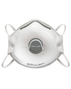 Engångsmask Zekler 1302V Formad(m ventil)