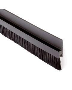 Borstlist Flexibel 30 mm borst Svart, Metervara