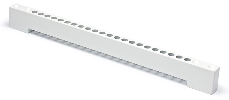 Borrmall för enkel montering av fönsterventil
