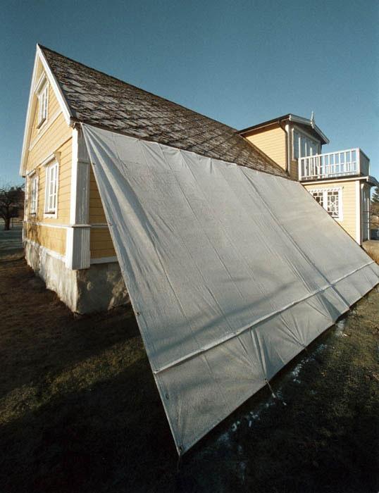 LA Väderskydd för enklare fasadmålning